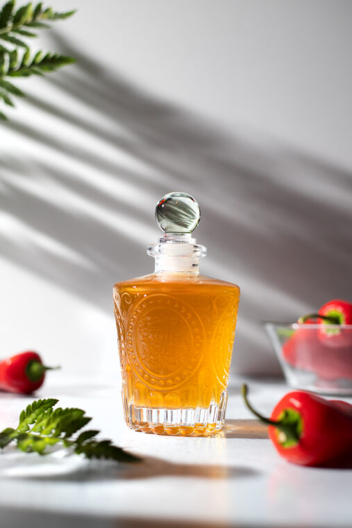 Hot Honey Syrup For Drinks