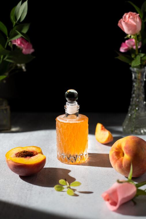 Easy Fresh Peach Syrup Recipe