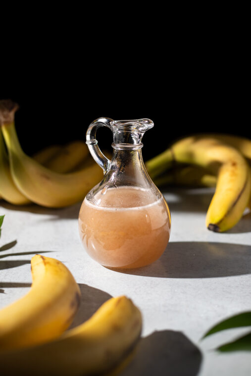 Fresh Banana Syrup (for Breakfast, Dessert, or Drinks!)